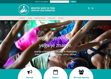 portfolio: hrvatski savez za yogu