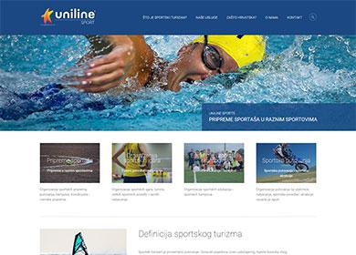 portfolio: UNILINE Sports - Organizacija evenata