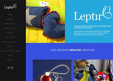 portfolio: obrt-leptir.com.hr